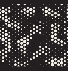 Halftone pattern snake skin style seamless vector