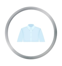 Long sleeve shirt icon of for vector image vector image