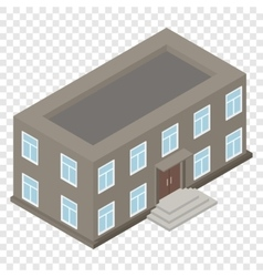 New architecture isometric house vector image