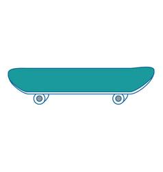 skateboard extreme sport vector image vector image