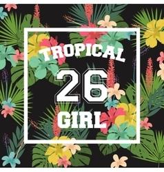 T-shirt print banner vector image