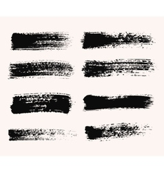Wide Brush Strokes vector image vector image