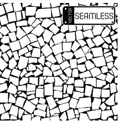 Seamless texture of black and white tiles wall vector