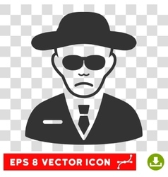 Security agent eps icon vector