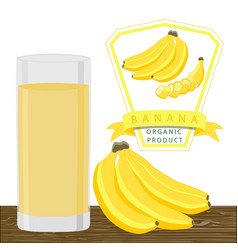 the banana vector image vector image