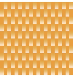 White square pattern on orange background vector image vector image
