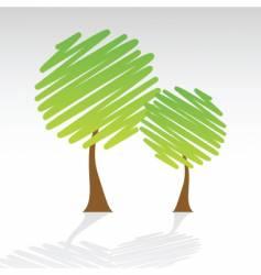 tree sketch vector image