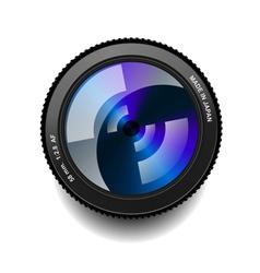 Camera lens vector