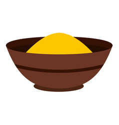 Curry spices icon isolated vector