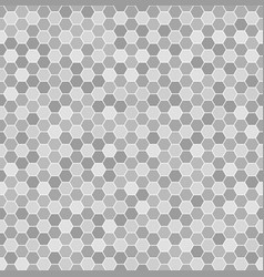 hexagon pattern seamless geometric background vector image vector image
