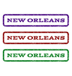 New orleans watermark stamp vector