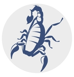 Scorpion icon vector image vector image
