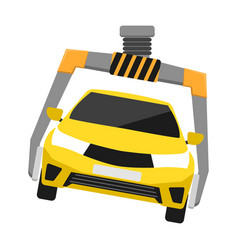 Rent car business concept vector