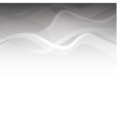 Abstract wavy background blurred swoosh waves vector