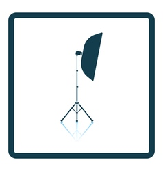 Icon of softbox light vector image vector image
