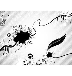 Ink Fantasy vector image vector image