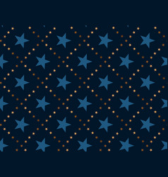 luxury abstract star concept seamless pattern vector image vector image