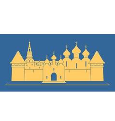 Monastery vector