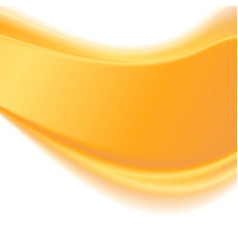 Abstract yellow wavy background vector