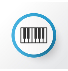Synthesizer icon symbol premium quality isolated vector