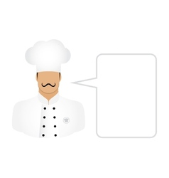 Chef cook avatars and user icons vector