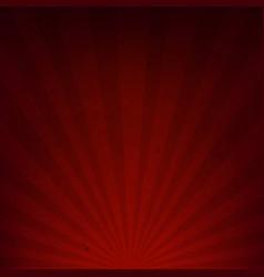 Dark red sunburst paper vector