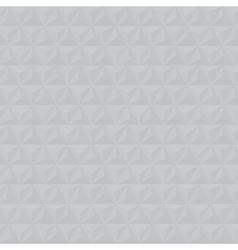 Grey geometric triangle seamless pattern vector