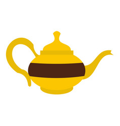 teapot icon isolated vector image