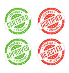 Seal certificate vector
