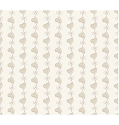 Retro seamless pattern beige background vector