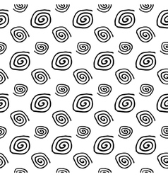 Abstract Spiral Seamless Pattern vector image