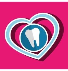 symbol medicine odontology icon vector image