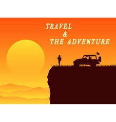 Adventure on holiday vector