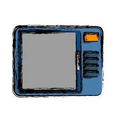 Microwave icon image vector