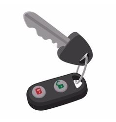 Auto key with remote control vector