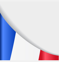 French flag background vector
