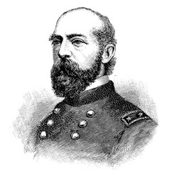 General george g meade vintage vector