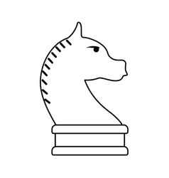 Knight chess icon image vector