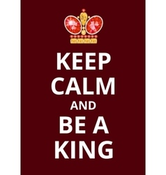Poster Keep Calm vector image