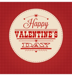 Retro valentine vector
