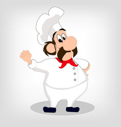 chef banner vector image