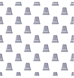 Thimble pattern seamless vector