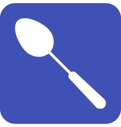 Single spoon vector