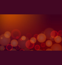 Background template with dim light on brown vector