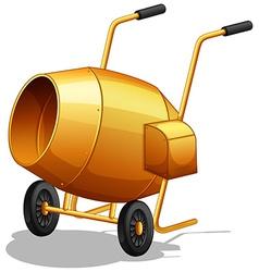 Cement mixer vector