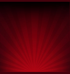 Dark red sunburst paper vector