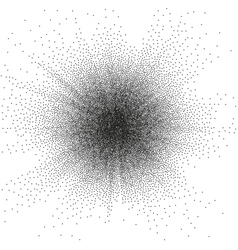Random halftone EPS 10 vector image