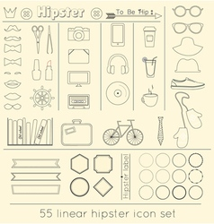 Signs and symbols templates for your design linear vector