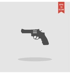 Revolver Icon concept for vector image