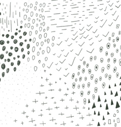 Hand drawn doodles seamless pattern vector